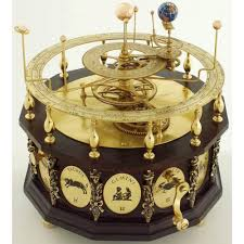 symbolic living astrological globes orrery steampunk