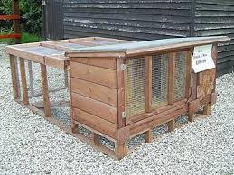 4ft Rabbit Hutch With Run Hutches Shalynn Cattery