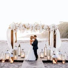 wedding arches nz extravagant wedding dressing white flowers and lights