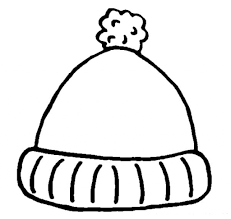 winter hat coloring page winter hat template 135867 winter hat