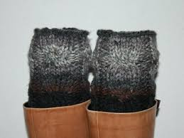 company 0742 womens leather knitted sock ankle boots 28 best leg warmers images on boot cuffs