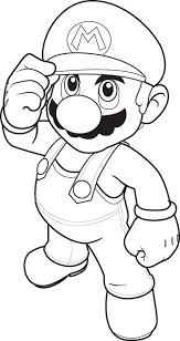 mario characters free coloring pages on art coloring pages