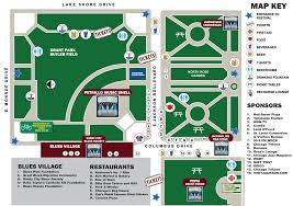taste of chicago map weekend events awakening chicago blues festival ribfest