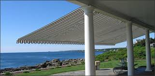 Deck Awning Retractable Patio Awnings And Retractable Deck Awning Eastern Awning