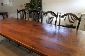 Nice Rustic Farmhouse Dining Room Tables Farm Table Diy Petejpg - Farm dining room tables