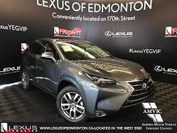lexus edmonton owner pre owned 2017 lexus nx 200t demo unit luxury package 4 door