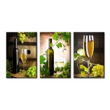 modern kitchen art paintings amazon com canvas art prints grapes wine bottle wine glasses