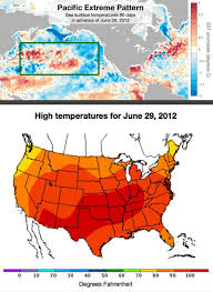 United States Map With Oceans by Ocean Temps Predict U S Heat Waves 50 Days Out Study Finds