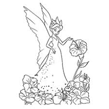 25 free printable tinkerbell coloring pages