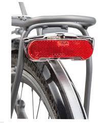 rear bike light rack mount axa slim steady led carrier dynamo rear light bicycle bike pannier
