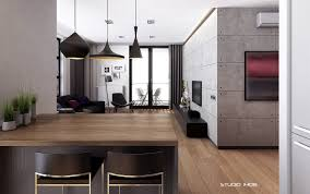 modern open concept kitchen open concept apartment interior design ideas