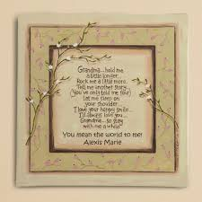 gifts for grandmothers garden stones with sayings personalized 2013 grandparent s day
