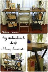 Diy Industrial Furniture by 47 Best Diy Desks Repurposed Images On Pinterest Painted