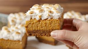 baking sweet potato marshmallow bars sweet potato marshmallow