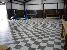 Cool Garage Floors Black And White Vinyl Floor Tiles For Garage Floor Decoration