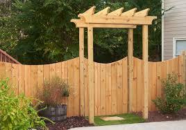 arbors with gates atlanta decking u0026 fence