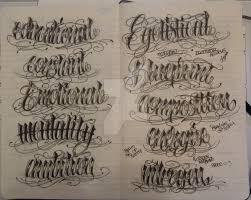 moleskine lettering 5 by 12kathylees12 on deviantart