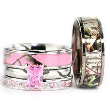 camo wedding rings pink camo wedding ring sets wedding ideas