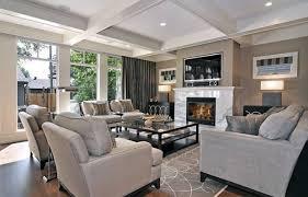 livingroom set up living room setup with fireplace and dark hardwood floor home
