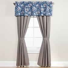 Blue Curtain Valance Buy Curtains Valances From Bed Bath U0026 Beyond
