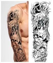 online buy wholesale rose tattoo sleeve for men from china rose