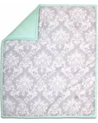 spectacular deal on the peanut shell baby crib quilt grey floral