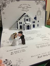 pop up wedding invitations artistic pop up wedding invitations which you need to make catchy