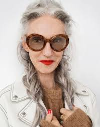 ombre style for older woman 30 stylish gray hair styles for short and long hair