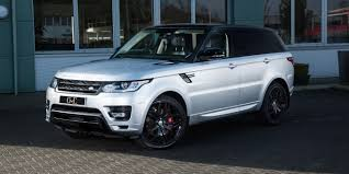 land rover silver land rover range rover sport autobiography dynamic 5 0 s c 2013