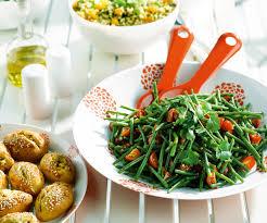 cuisiner des haricots verts recette de cyril lignac salade de haricots verts à la coriandre