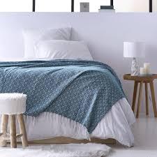 jetée de canapé couvre lit jeté de canapé 100 coton tissé jacquard à micromotifs