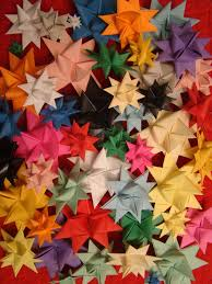 tutorial fabric star ornaments craft ideas pinterest