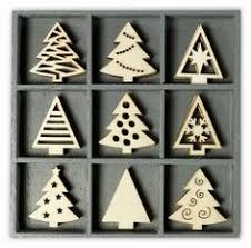 wooden laser cut ornaments of 45 shapes