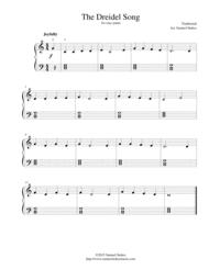 musical dreidel the dreidel song i a dreidel for easy piano