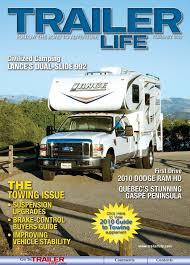 nissan titan con lance 650 camper trailer life magazine february 2010 by bob dawson issuu