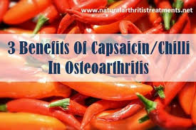3 benefits of capsaicin chilli in osteoarthritis updated