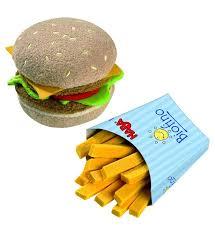 jeux de cuisine frite haba epicerie hamburger avec frites jeux et jouets par catégorie