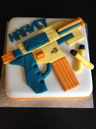 nerf gun cake cakes u0026 bakes pinterest nerf gun cake gun