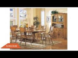 Design Modern Oak Dining Room Furniture YouTube - Oak dining room table chairs