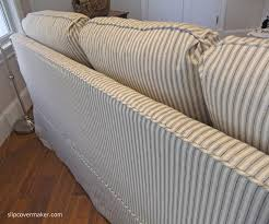 Slipcovered Sleeper Sofa Sleeper Sofa Slipcover The Slipcover Maker