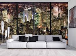 Tapisserie Poster Mural by Papier Peint Mural On Decoration D Interieur Moderne Mur De Brique