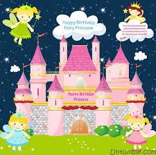 Castle Backdrop Fairy Castle Banner Fairy Princess Untumble Com
