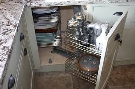 Corner Cabinet Solutions In Kitchens Diy Storage Solutions To Keep The Kitchen Ideas Most Elegant As