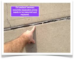 Cement Patio Sealer Concrete Expansion Joints Keep Them Watertight And Resistant