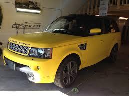 matte range rover matte yellow range rover sport autobiography vehicle
