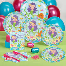 mermaid party supplies mermaid party complete party pack for 16 party supplies canada