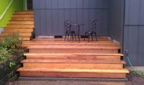 wendy u0027s cedar deck and stairs black diamond fencing