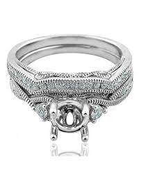 vintage wedding ring sets vintage diamond ring settings wedding ring sets yellow gold