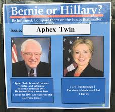 Window Licker Meme - aphex twin bernie or hillary know your meme