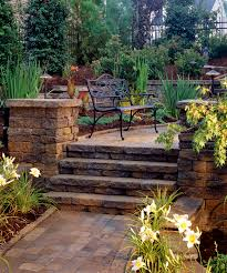 dublin celtic belgard pavers for steps and hardscape patios and